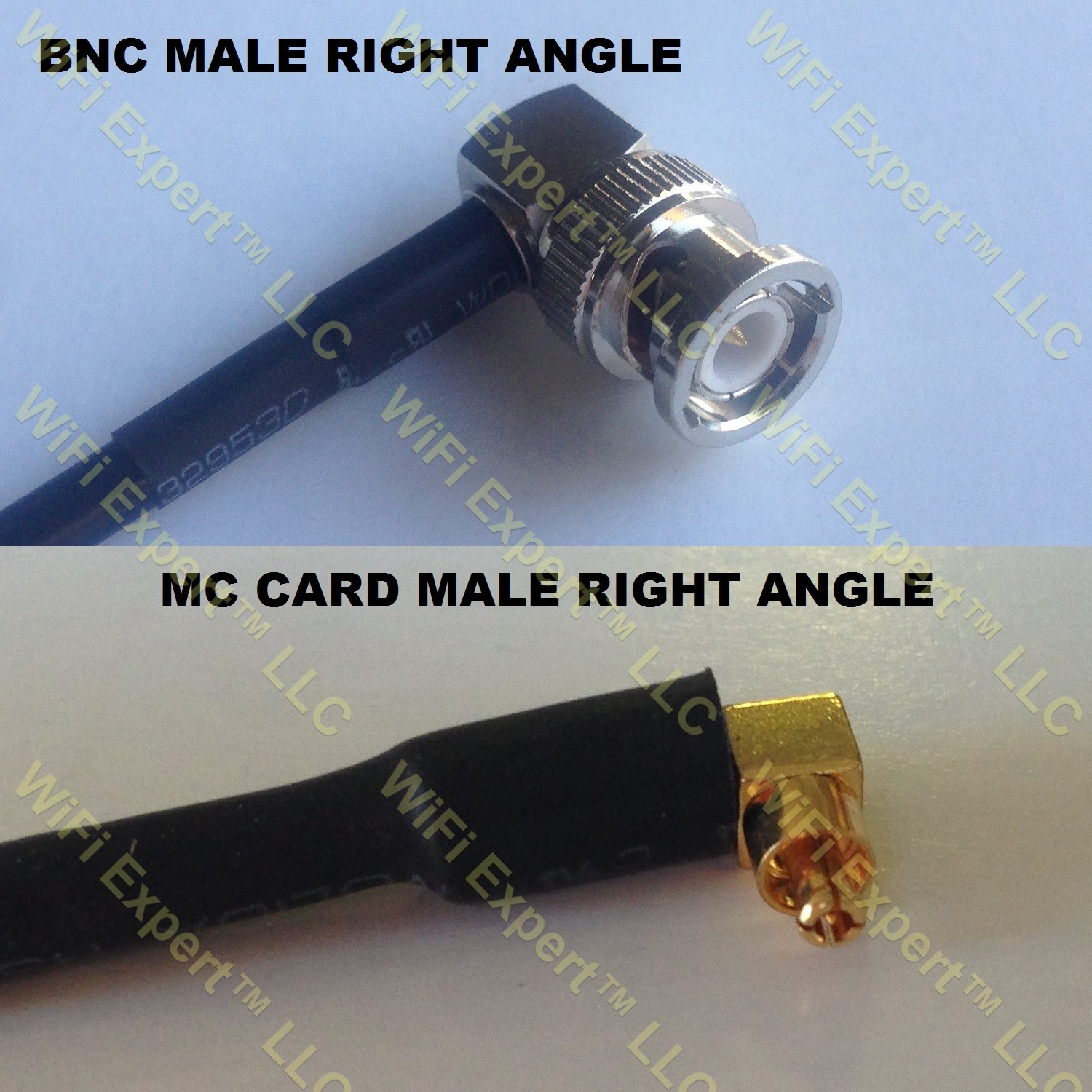 Rg316 Bnc Male Angle To Mc Card Male Angle Coaxial Rf