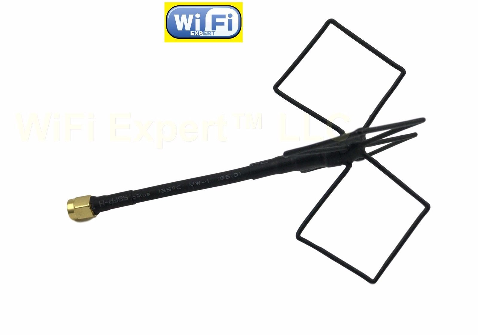 Rp Sma Wifi Antenna 2 4ghz Omni Biquad Mach 4b Antenna For