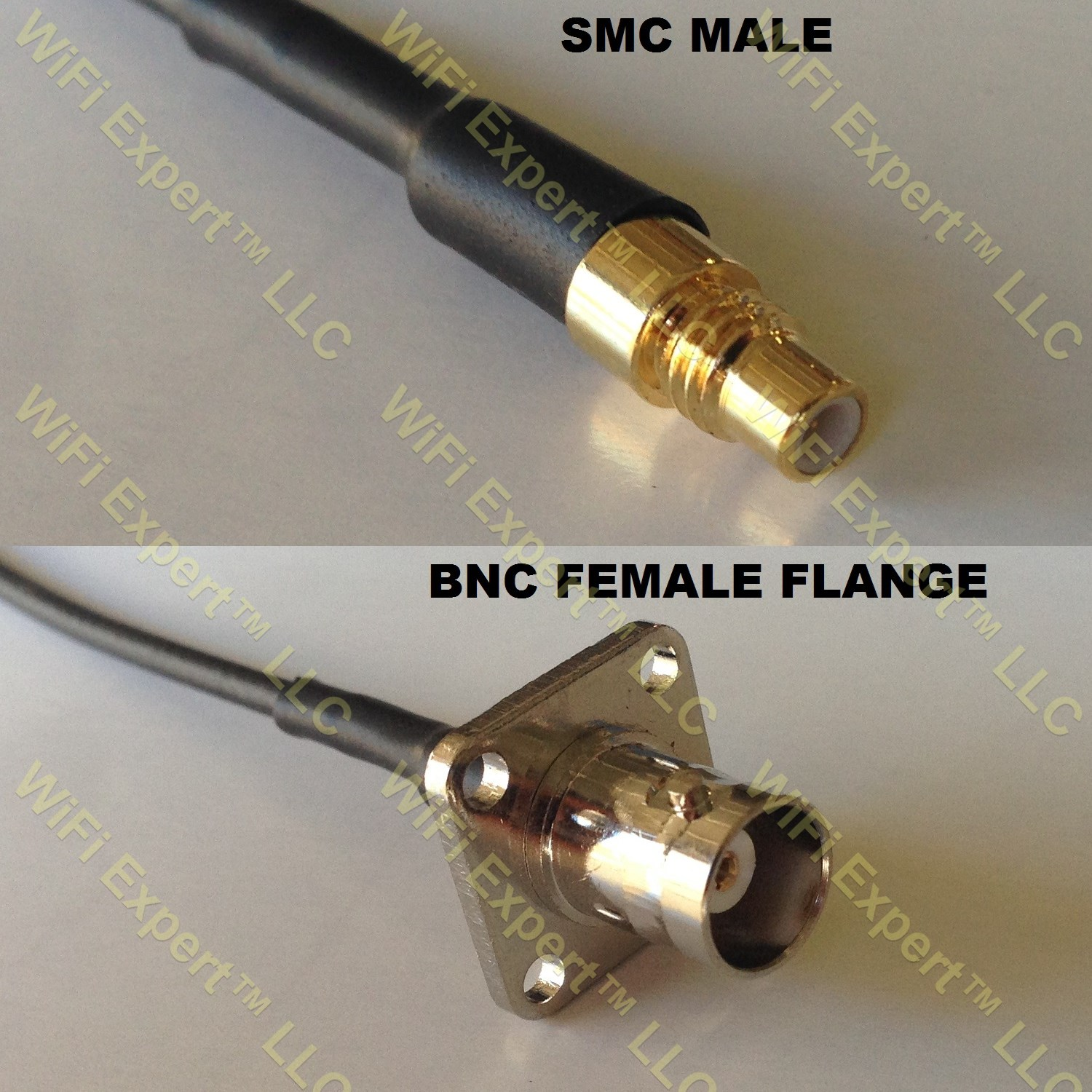3 feet RG316 N Male to BNC Female RF Pigtail Coaxial Cable