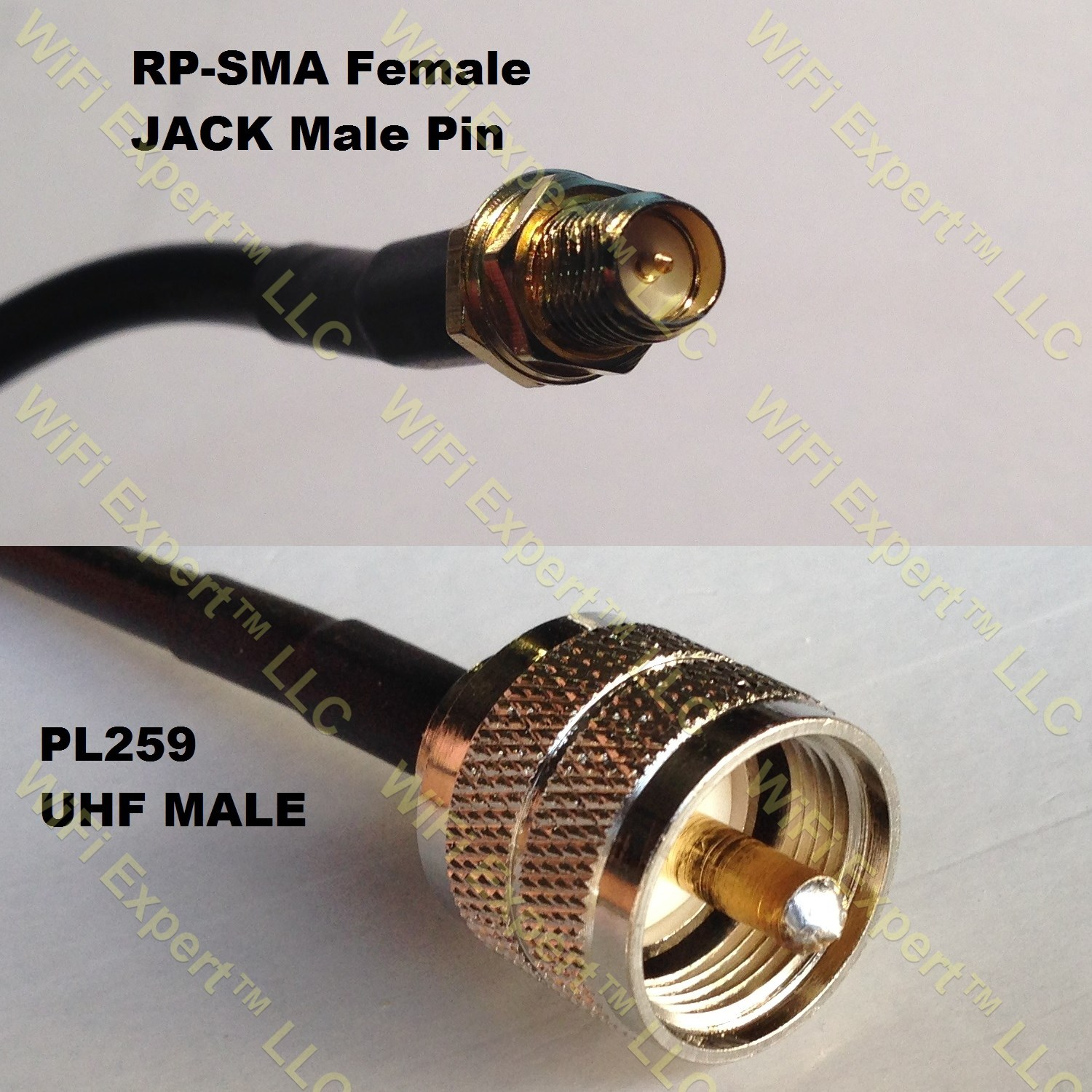 RG400 N MALE ANGLE to TNC MALE Coaxial RF Pigtail Cable USA