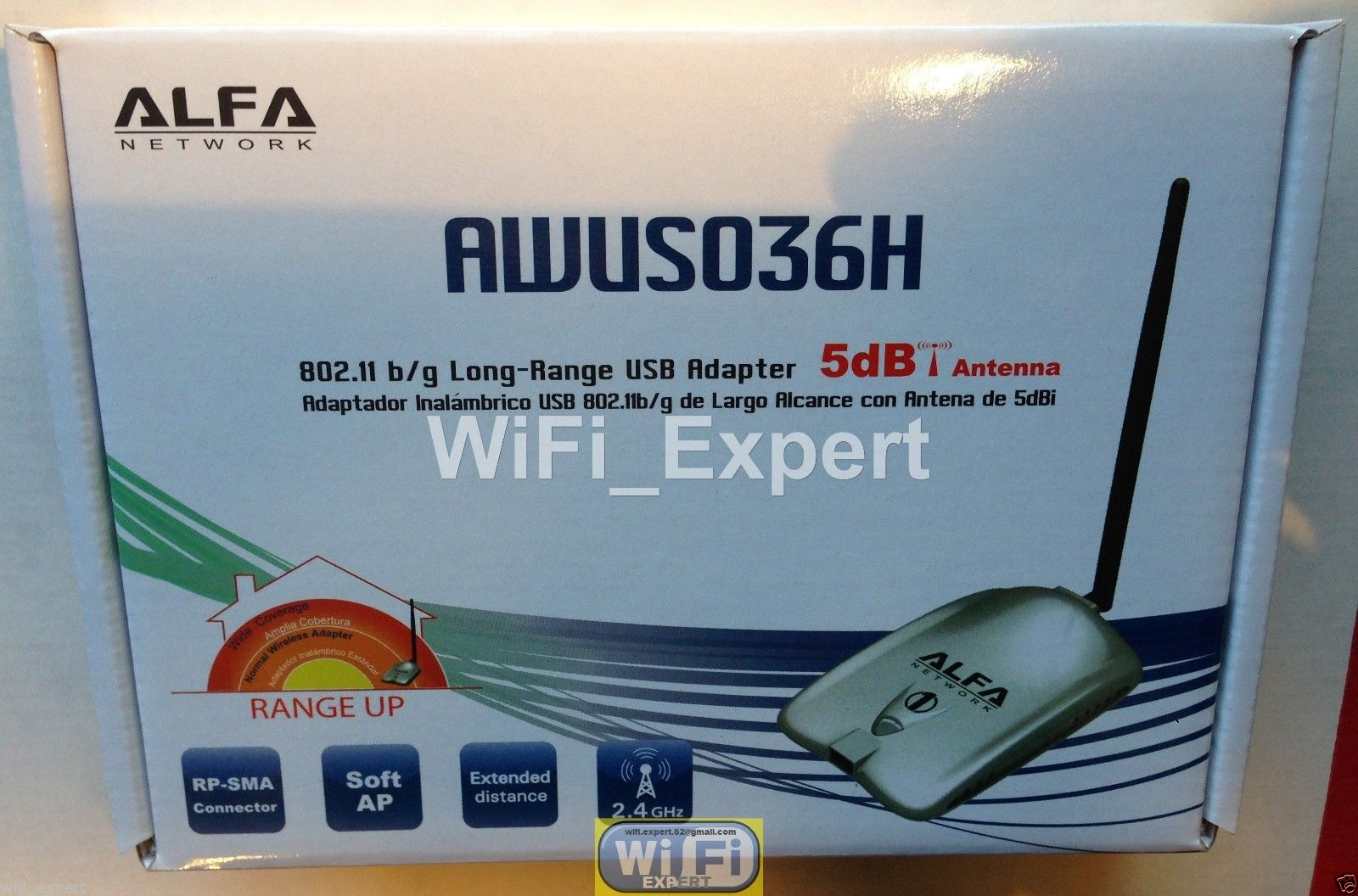 Wifi Antenna 18dbi Yagi Alfa G Super Long Range Booster