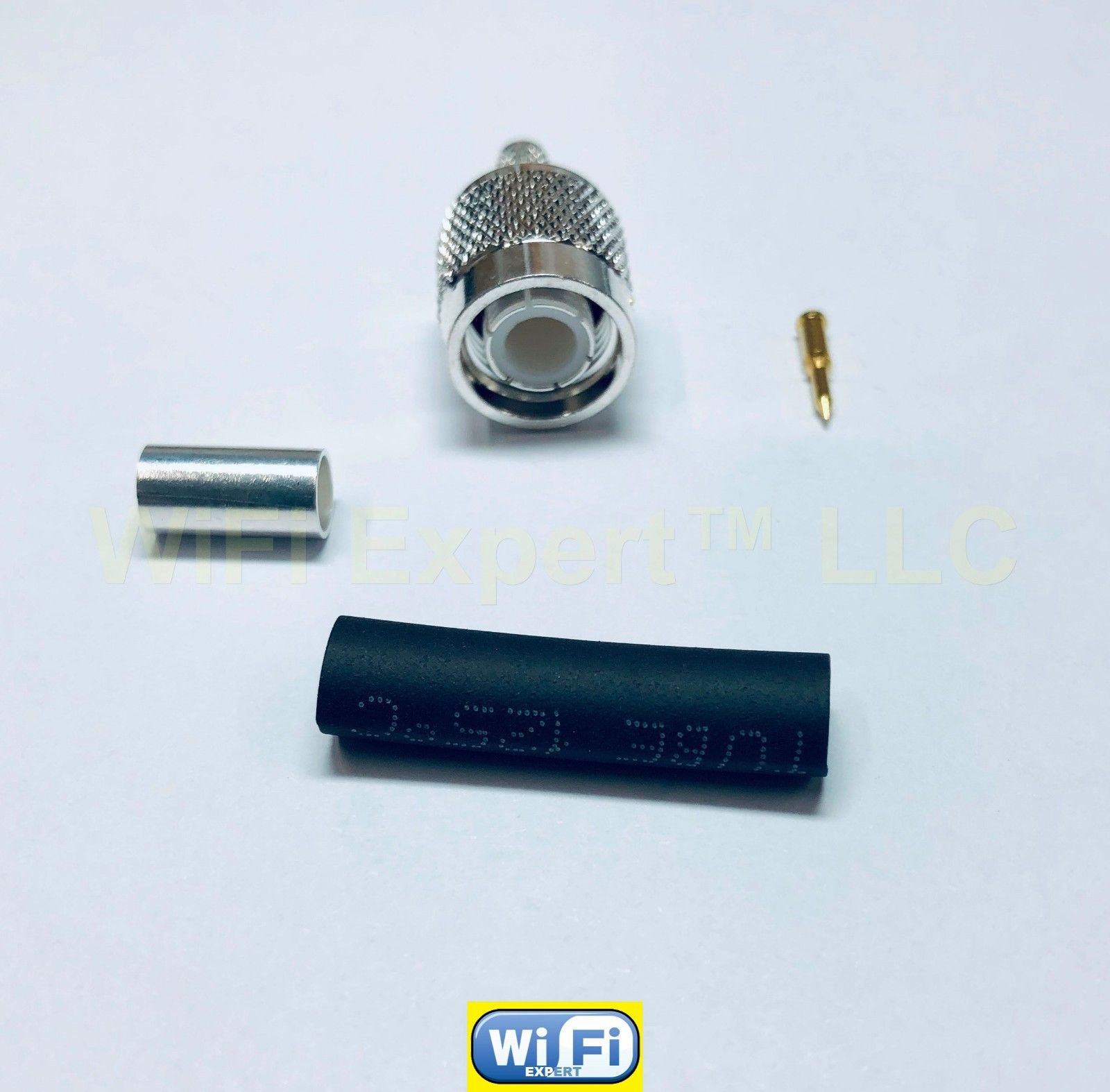 RG142 Silver SMA MALE to SMA MALE Coax RF Cable USA Lot