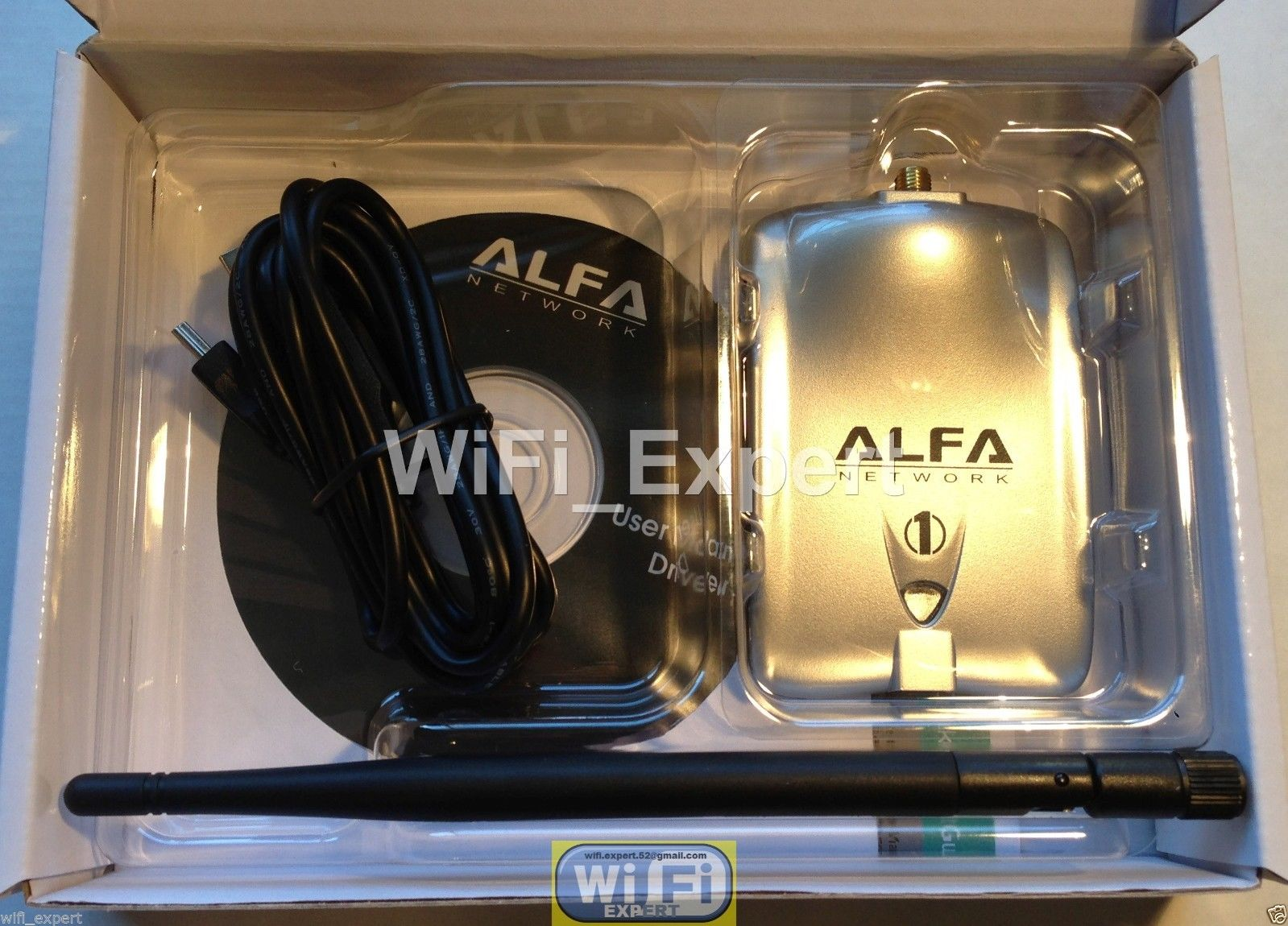 Wifi Antenna 18dbi Yagi Alfa G Super Long Range Booster