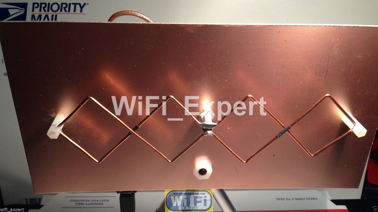 Wi fi bi quad антенна