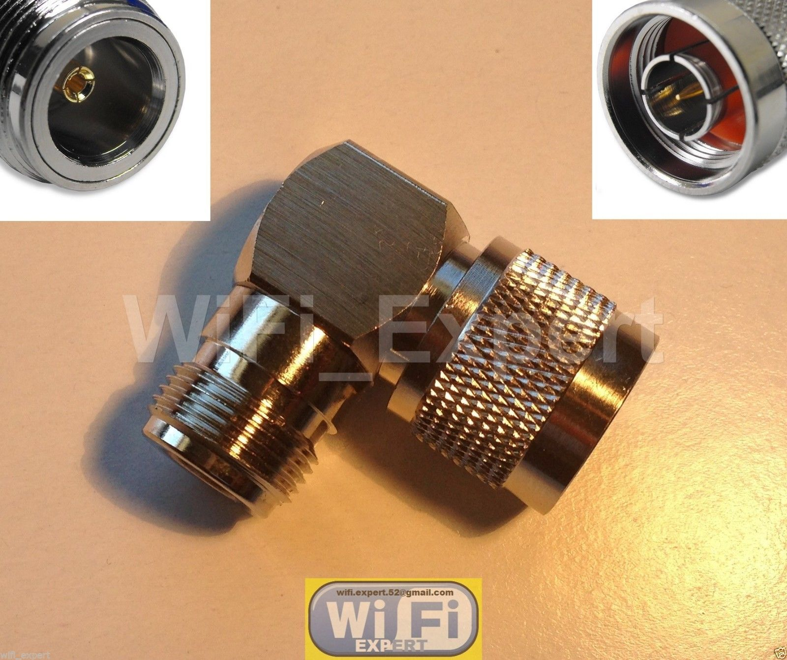 Right Angle Booster : Wifi antenna double biquad mach v b dish booster long