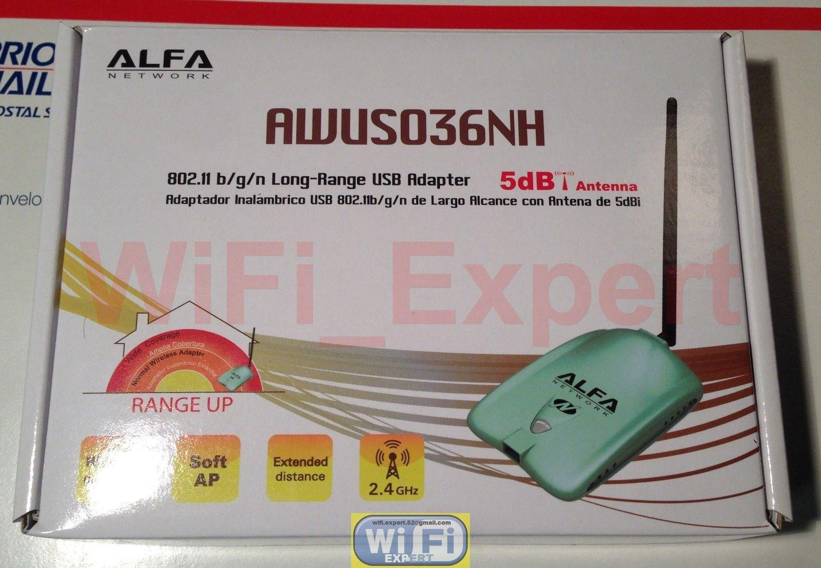 WiFi Antenna 15dBi BiQuad ALFA R36 +G/N Net Long Range Booster GET FREE  INTERNET