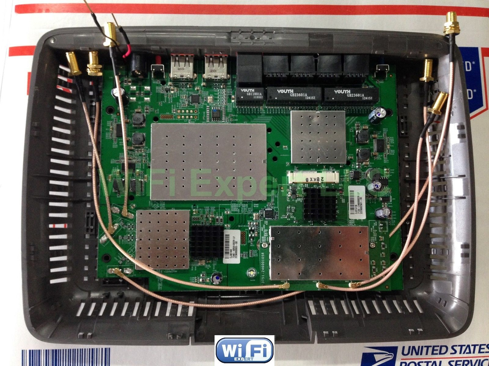 6 Antenna Router Antennas Router Mod Kits