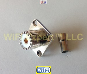 UHF Female Flange